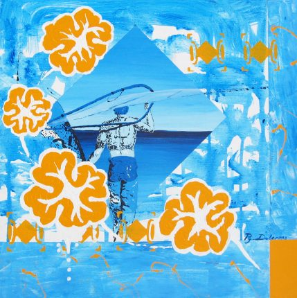 windsurf art sur toile